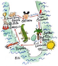 eric hanson (idée carnet de voyage)