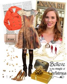 """""""Believe in the magic of Christmas"""" by ellie366 ❤ liked on Polyvore"""
