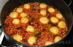 Zavářky do polévky   Vaříme s Marcelou.cz Paella, Ethnic Recipes, Food, Essen, Yemek, Meals