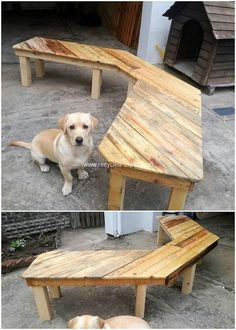 Use Pallet Wood Projects to Create Unique Home Decor Items – Hobby Is My Life Wood Pallet Tables, Wooden Pallets, Pallet Bench, Pallet Wood, Wooden Chair Plans, Chair Design Wooden, Diy Furniture Chair, Wood Pallet Furniture, Palette Furniture