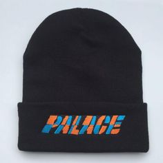 24da0a58bc6 Men s   Women s Palace One Tooth Cuffed Knit Skully Basic Warm Beanie Hat -  Black   Multi Colors