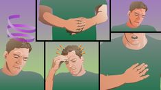 Carbon Monoxide Poisoning Symptoms illustration for NFPA