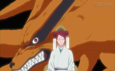 kurama nine tails | Mito Uzumaki Kuram a's First Jinchuriki