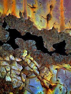 Pattern, texture - rust