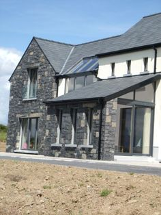 Carrickaneha: Architecture Ireland, Farmhouse Architecture, Stone Cladding, House Exteriors, House And Home Magazine, Improve Yourself, Irish, House Ideas, Houses