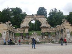 Roman Ruins in the Schönbrunn Palace Gardens