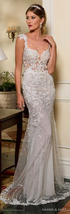 Modern Wedding Dress Ideas for 2018/ Follow me @ Melissa Riley- for more modern wedding dress collections, modern wedding cake ideas, modern eye makeup ideas, reception decor and color palate ideas, unique wedding photo ideas, skin care, wedding updos and more. lovemelissariley.com