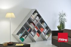 Bookcase Fitting Pyramid van piarotto.com Modular bookcases op DaWanda.com