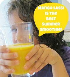 EASY MANGO LASSI RECIPE