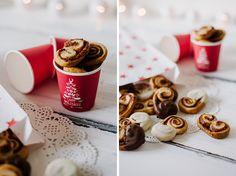 Mini Schweineohren mit Zimt und / oder Marzipan <3 Mit NUR 3 ZUTATEN perfekt für einen spontanen Kaffeklatsch im Advent <3