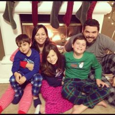 I hope your holiday week and weekend was amazing. We kicked our weekend off with our Christmas Eve jammie tradition.