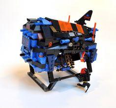 "[MOC] Aquasharks ""Spurdog"" Fast Attack Submarine Space Center, Lego Sets, Legos, Image, Lego Games, Lego, Logos"