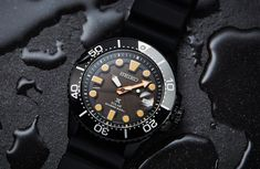 Seiko has just released three limited edition black divers, and they couldn't be hotter. We've already shown you the automatic SRPC49K, but there are two solar options on the table as well. The SSC673P is a stealthy version of the SSC618P we looked at a little while ago. It's worth noting...
