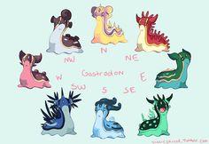 Pokémon - Gastrodon Variations by Location