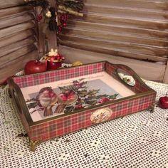 Новости Decoupage Vintage, Decoupage Art, Christmas Decoupage, Diy Christmas Gifts, Christmas Crafts, Decoupage Furniture, Art Furniture, Furniture Stores, Cheap Furniture