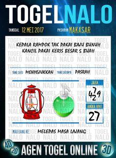 Keluaran 4D Togel Wap Online TogelNalo Makassar 12 Mei 2017