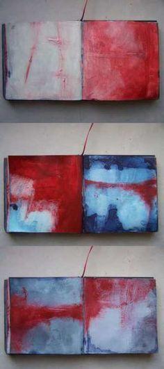 Carnet de travail Élisabeth Couloigner - sketchbook