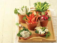 Garden Vegetable Platter--for spring party