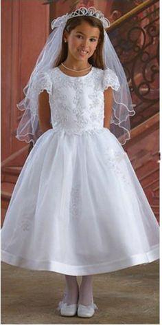 Sewing Pattern Vogue Strausberg Designer Flower Girl /& Doll Dress Sz 2-8 Wedding