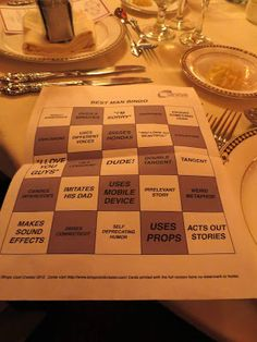 Toast Bingo--- no one likes to be bored after all