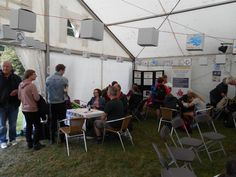 Our End Hunger Cafe at the Greenbelt festival in August 2016