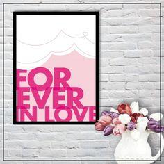 Forever In Love 50x70cm