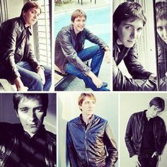 James Phelps a.k.a Fred Weasley. The real and fictional loves of my life. #harrypotter #fredweasley #jamesphelps