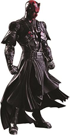 Star Wars Action Figure Darth Maul Model Toy PLAY ARTS Star Wars Darth Maul Action Figure Star Wars  @ niftywarehouse.com #NiftyWarehouse #Geek #Products #StarWars #Movies #Film