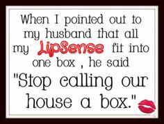 #Love ❤️ my #LipSense  #LoveTheSkinYouAreIn