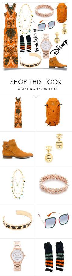 """Charming fashion"" by emmamegan-5678 ❤ liked on Polyvore featuring Emilio Pucci, Arc'teryx, Church's, Tory Burch, Shay, Gucci, Marc Jacobs, Sonia Rykiel, Disney and modern"