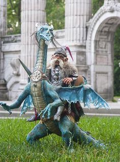 A Posable Dragon - A Creative Journey