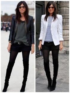 Emmanuelle Alt does skinnies my way : ) Looks Style, Style Me, Casual Chic, Emmanuelle Alt Style, Work Fashion, Fashion Design, Style Fashion, Fashion Outfits, Paris Mode