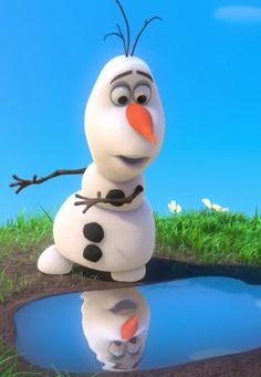 """Winter's a great time to stay in and cuddle, but put me in summer and I'll be a.....HAPPY SNOWMAN!!!!!"