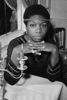 Nina Simone - Born in Tryon, N.C., in 1933, Nina Simone's life changed forever when she was denied a scholarship to the prestigious Curtis Institute of Music in Philadelphia, despite years of training as a concert pianist and well-received audition. Simone believed that racism was behind the rejection, and she turned to popular music, playing in small clubs and adding singing to her repertoire. Thank goodness for that. By the '60s, Simone was already a legend. Iconic Women in the 60s