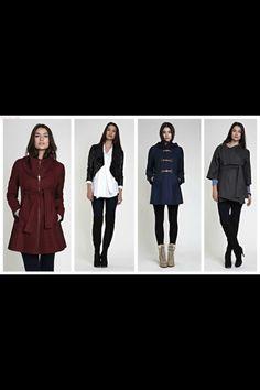 Winter maternity fashion for less at MotherhoodCloset.com