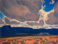 Mesas in Shadow, 1926 by Maynard Dixon on Curiator, the world's biggest collaborative art collection.