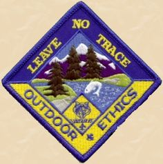 Leave No Trace Frontcountry Guidelines and Cub Scouts