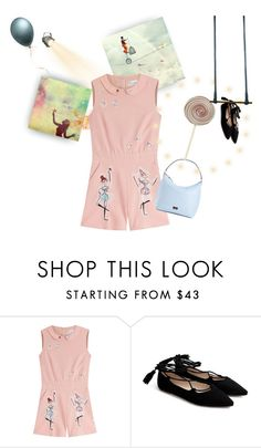 """""""Untitled #221"""" by thaliatria ❤ liked on Polyvore featuring Vision, RED Valentino and Kate Spade"""