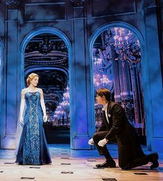 Anastasia in her midnight blue Opera gown and Dmitri in his tuxedo ❤ Anastasia on Broadway Anastasia Movie, Anastasia Broadway, Anastasia Musical, Broadway Theatre, Musical Theatre, Broadway Shows, Broadway Nyc, Musicals Broadway, Princesa Anastasia