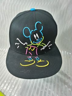 Mickey Mouse Snapback Hat by Disney 751132cc257b