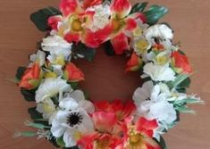 Vence Floral Wreath, Wreaths, Handmade, Home Decor, Floral Crown, Hand Made, Decoration Home, Door Wreaths, Room Decor