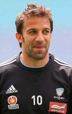 Sydney FC striker Alessandro Del Piero