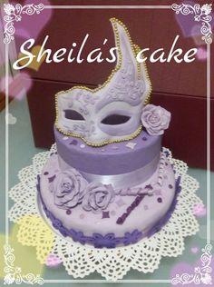 mask cake #MASCHERA #CAKE #TORTA #DOLCI #PASTADIZUCCHERO #PDZ