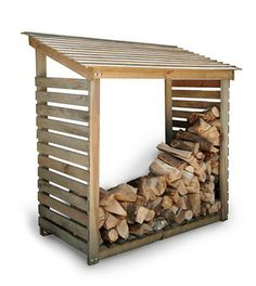 With our sizeable Wooden Log Store you can continue to enjoy the warmth and homely atmosphere of your open fire, with a perfectly organised ...