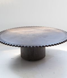 Round Coffee Table by Jerome Abel Seguin at Ralph Pucci