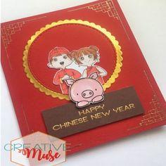 Chinese New Year Card 2019 Chinese New Year Card, Invitation Cards, Greeting Cards, Instagram, Art, Craft Art, Kunst