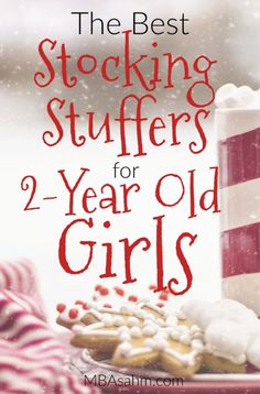 These are the best stocking stuffers for 2-year old girls! Christmas shopping can be a lot of fun for toddlers, so check out these stocking stuffer ideas to make your shopping easy!