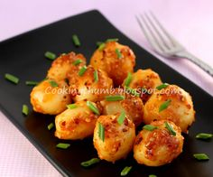 Chilli Garlic Potatoes