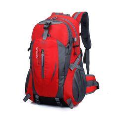 Nylon Unisex Backpack Solid Zipper Waterproof Men Double Shoulder Bag For Teenagers Casual Laptop Backpacks