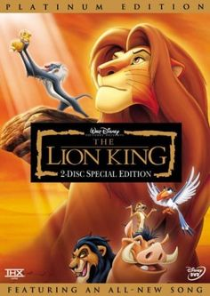 The Lion King (Two-Disc Platinum Edition) - The Lion King is another movie which broke many records and stole millions of hearts.